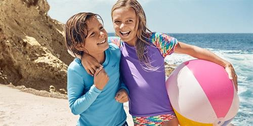 Casual apparel and footwear for kids