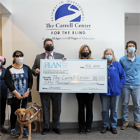 PLAN of MA & RI and Carroll Center for the Blind announce strategic partnership