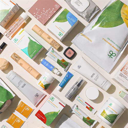 Just some of the plant based products from skincare to nutrition delivered to your door