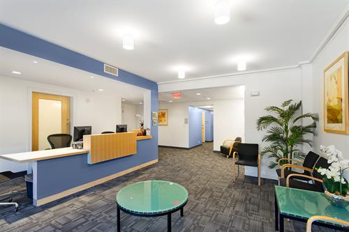 1101 Beacon St. - Breast Imaging - Our Reception Area