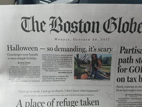 Featured in Boston Globe article: https://www.bostonglobe.com/lifestyle/style/2017/10/29/age-artisan-carved-pumpkin-bar-high-people-are-hiring-halloween-concierges/uDz9lZYq9Tbut0SgaKpi7N/story.html