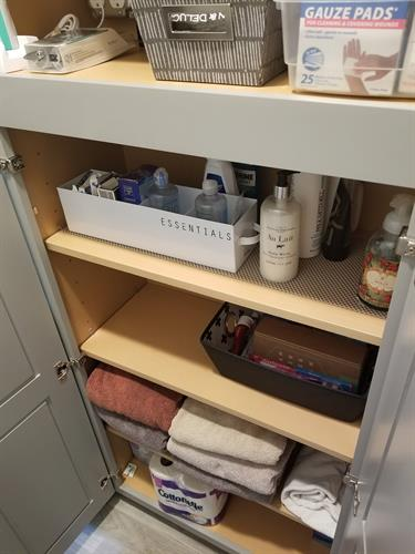 Organizing: From closets to files
