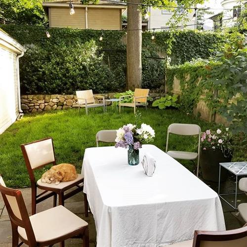 Backyard events: We love celebrations. Planning and coordinating events is something we love to do.