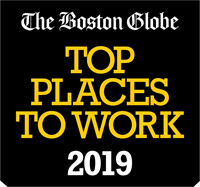The Boston Globe names Visiting Angels Newton/Canton a Top Place to Work for 2019