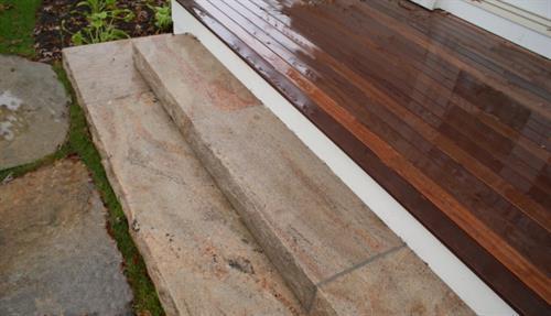 Phoenician Granite Steps.