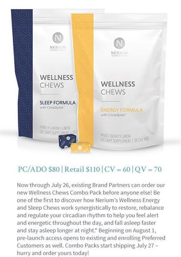 Nerium Wellness Chews