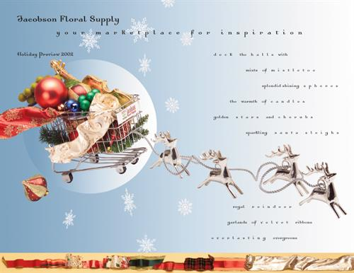 Jacobson Floral Supply holiday catalog