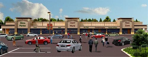 Conceptual Design for Shopping/Entertainment Center