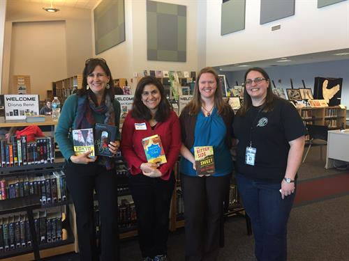 One Day Author Visit at Needham High School