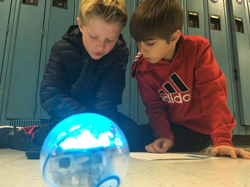 Sphero Sprk Technology Integration at All Elementary Schools