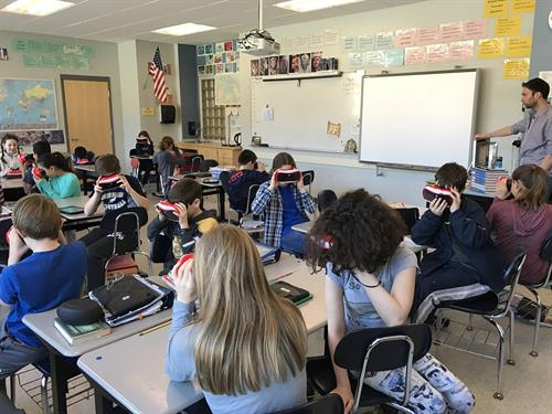 Virtual Reality Expedition at High Rock School