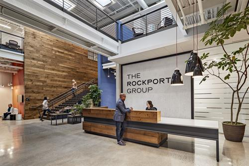 The Rockport Group's Lobby Area
