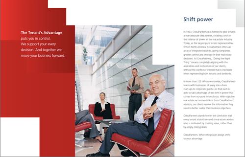 Brand Visual  Identity; Client: Cresa Partners