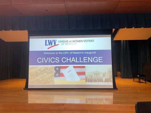 9 teams competed in our community-wide inaugural Civics Challenge in early March