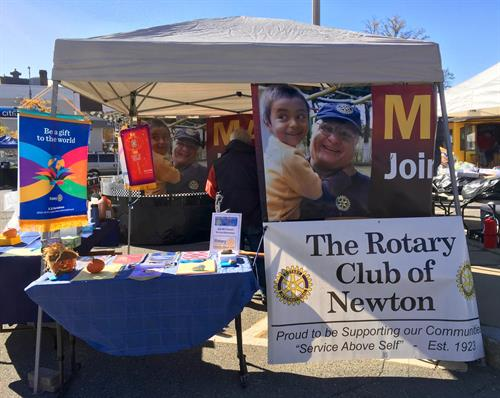Rotary at Newton's Harvest Fair