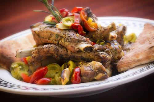 Pork Ribs with Vinegar Peppers