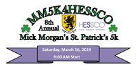 New Outlook Homecare running  in the Mick Morgan/ HESSCO 5K Race