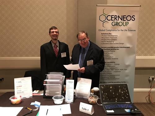 Cerneos working with MedMates at the Life Science Expo