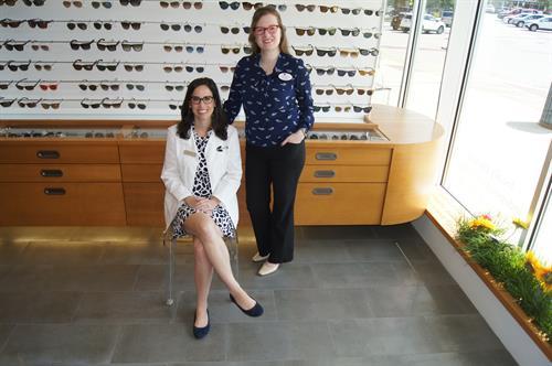 Melanie Cabral. LDO and Dr. Glenda Savitz O.D.