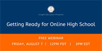 Member Webinar: Getting Ready for Virtual High School