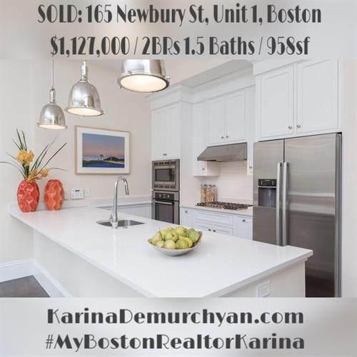 #Sold #Boston #NewburyStreet #MyBostonRealtorKarina
