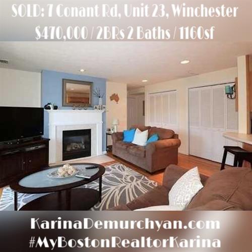 #Sold #Winchester #MyBostonRealtorKarina