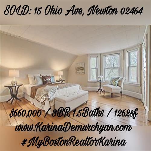 #Sold #Newton #MyBostonRealtorKarina
