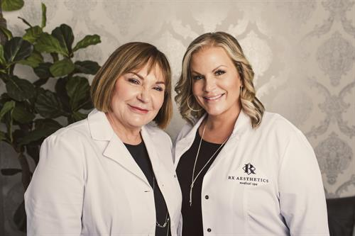 Co-owners, Nurse Therese & Nurse Julie