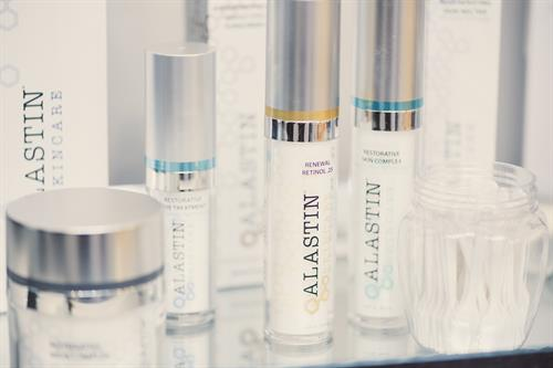 Our medical-grade skincare line, Alastin Skincare.