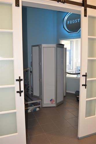 Cryo Sauna Different view