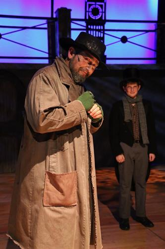 "Ethan Butler as Fagin in ""Oliver"", November 2107"