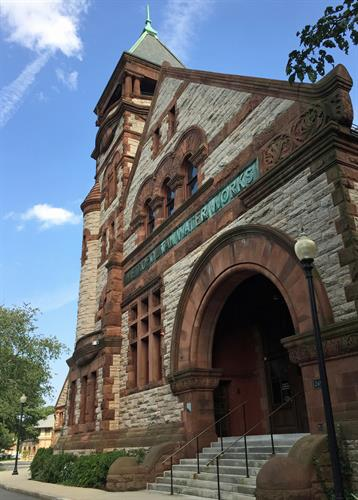 The Metropolitan Waterworks Museum in Chestnut Hill, MA
