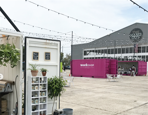 Featured Project: The Hangout Pop-Up Village
