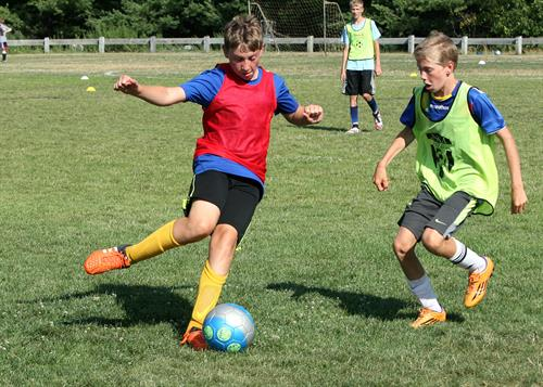 John Smith Soccer Camp at Olin College, Needham