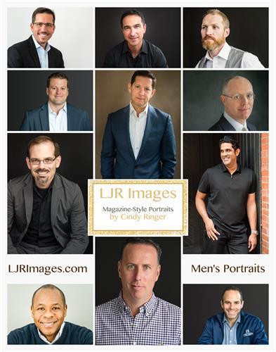 Men's Portraits by Cindy Ringer of LJR Images