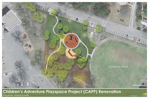 Town of Stoughton Children's Adventure Playspace at Halloran Park, Master Plan