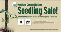 Announcing Needham Community Farm's First Spring Seedling Sale