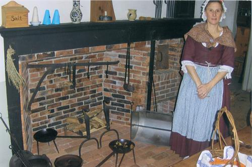 Hearth of the Home Colonial Style