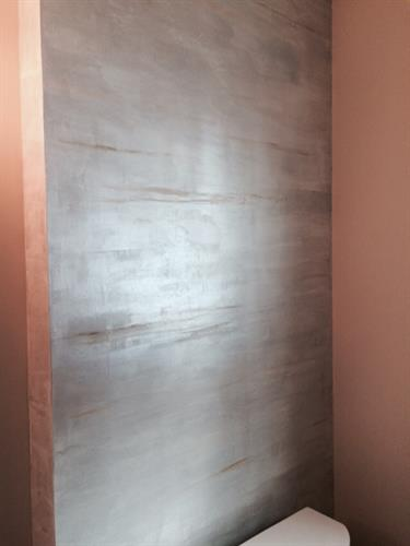 Horizontal Plaster Finish