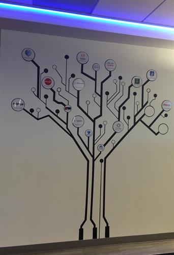 Circuit Board Tree, NetBrain Technology, Burlington, MA
