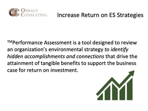 Return on ES Strategy Investment