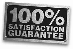We guarantee customer satisfaction
