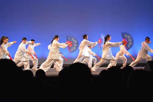 Tai Chi Kung Fu Fan as performed at the Helen Gee Chin Scholarship Foundation Fundraiser @ Newton North High School