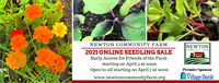 Newton Community Farm's 2021 Online Seedling Sale