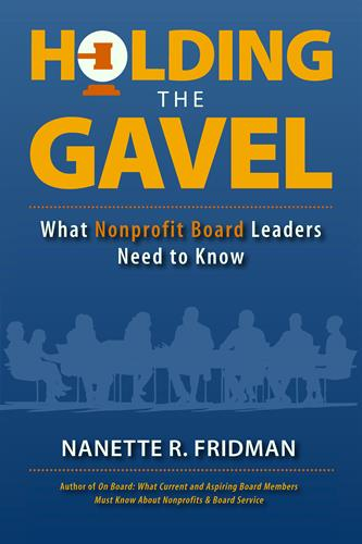 Holding the Gavel: What Nonprofit Board Leaders Need to Know