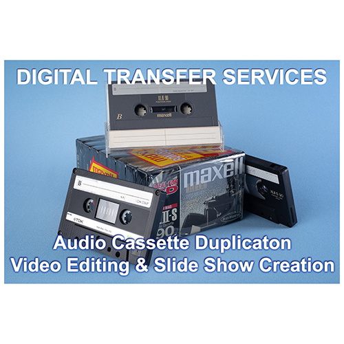 Audio Cassette duplication & Video Editing Services
