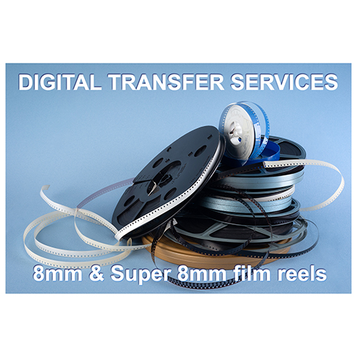 Home Movies to Digital Transfer 8mm & Super 8mm film to video