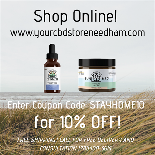 "Shop Online! Coupon Code ""STAYHOME10"" for 10% OFF and FREE SHIPPING!"
