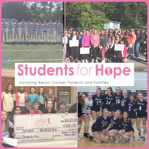 Ellie Fund's community includes local youth as part of our Students for Hope.