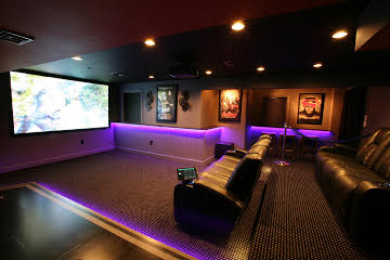 Basement Transformation Home Theater Project